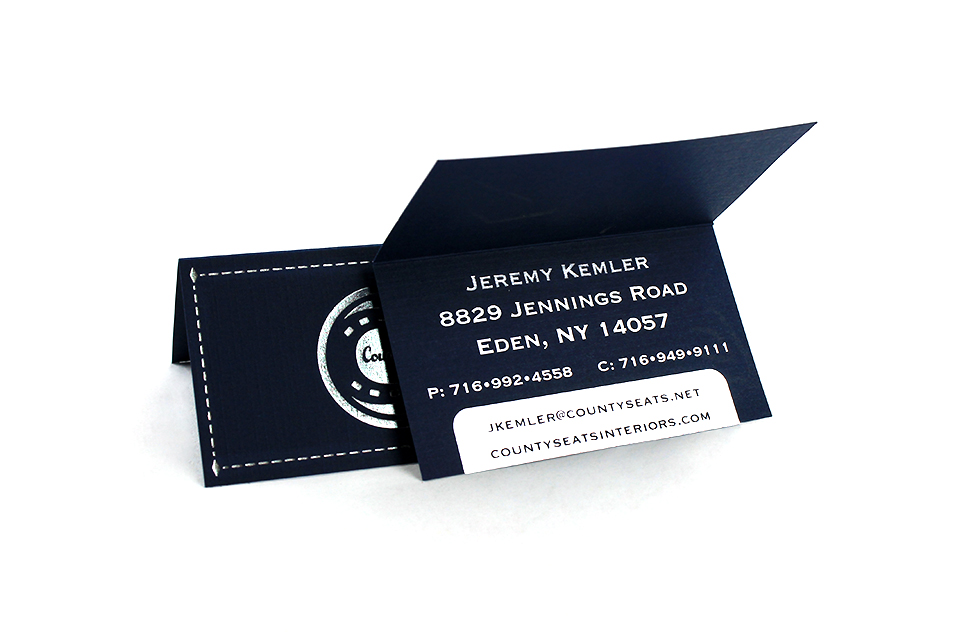 Custom Foil Stamped Business Cards, Buffalo, NY
