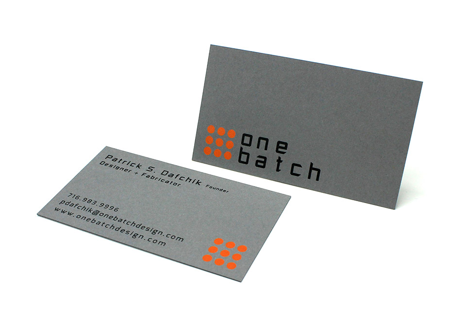 Foil Stamped Business Cards, Letterpress Printing
