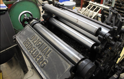 Trade Printer, Print Finishing, Print Outsourcing Services